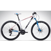 CUBE Aim 27.5 white´n´red´n´blue16""