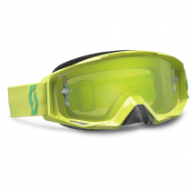 Goggle Scott Tyrant lime green green chrome works