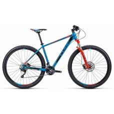 CUBE Aim SL 27.5 blue´n´flashred16""