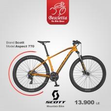 SCOTT ASPECT 770 ORANGE/DK.GREY