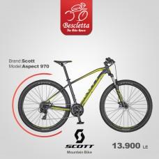 SCOTT ASPECT 970 DK.GREY/YELLOW