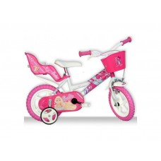 "DINO Bikes - Children's bike 12"" Barbie"