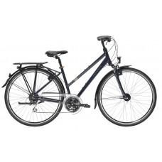 T02-200M Bike Lady Dark Blue